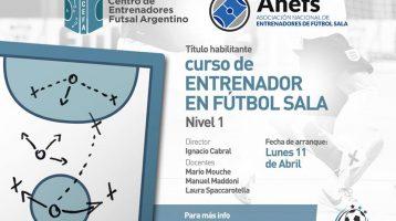 Acuerdo colaboración formativo entre CEFA (Centro de Entrenadores de Futsal Argentino) y ANEFS