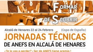 Jornada tecnica de ANEFS en Alcala de Henares (Copa de España)
