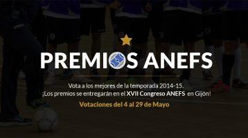 Ganadores Premios ANEFS 2015
