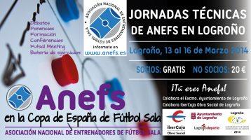Jornada tecnica de ANEFS en Logroño (Copa de España)