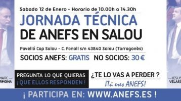Jornada tecnica de ANEFS en Salou (Marc Carmona y Jesus Velasco)