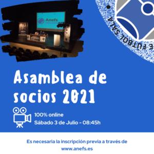 Asamblea de socios Anefs 2021