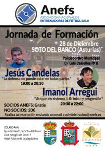 28/12 Jornada Formativa Soto del Barco (Asturias)