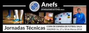 Calendario actividades Jornadas Técnicas de la Copa