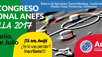 Inscríbete al XIX Congreso ANEFS en Sevilla