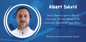 Albert Sabaté ponente en el XXII Congreso ANEFS online