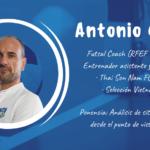 Antonio García ponente en el XXII Congreso ANEFS online