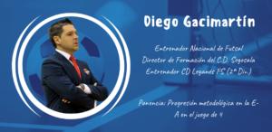 Diego Gacimartín ponente en el XXII Congreso ANEFS online