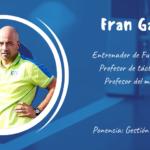 Fran Garrido ponente en el XXII Congreso ANEFS online