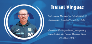 Ismael Mínguez ponente en el XXII Congreso ANEFS online