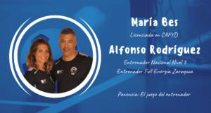 Maria Bes & Alfonso Rodríguez ponentes en el XXII Congreso ANEFS online