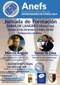 Jornada Formativa 22/12 en Asturias con Tomás de Diós y Marcos Angulo