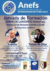 Jornada Formativa 22/12 en Asturias con Juanito y Tomás de Diós