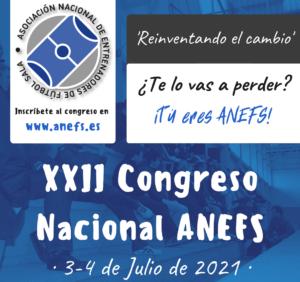 Cartel definitivo y horarios XXII Congreso Nacional Anefs