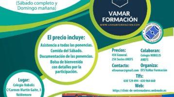 ANEFS colabora con VAMAR Formación en el clínic entrenadores 2-3 de Junio