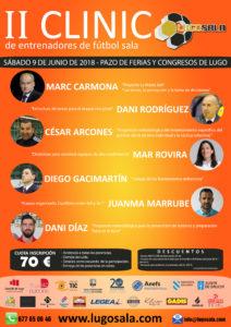 ANEFS colabora en el II Clínic Lugo Sala (09/06/18)