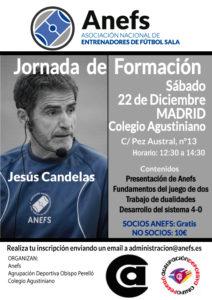 22/12 Jornada Formativa Madrid con Jesús Candelas