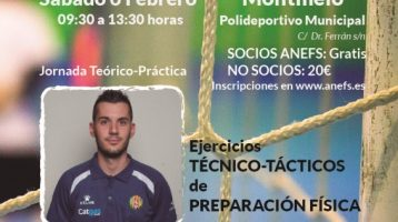 Jornada Formativa Montmeló 6 de Febrero – Ejercicios para la preparación física
