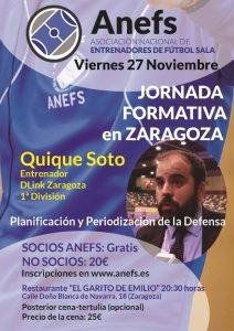 Jornada Formativa en Zaragoza el 27/11/15