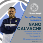 Futsal Meeting Navidad 2020 - Ponencia - Nano Calvache - Fundamentos desde la base