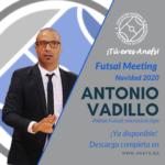 Futsal Meeting Navidad 2020 - Ponencia - Antonio Vadillo - Palma Futsal: microciclo tipo