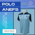 Polo ANEFS azul (Crew III)