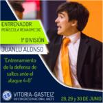 Juanlu Alonso ponente en el XXI Congreso ANEFS en Vitoria-Gasteiz