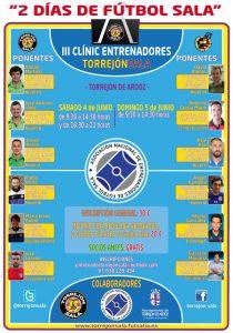 La ANEFS colabora en el III Clínic de Entrenadores de Torrejón Sala