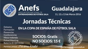 Horarios, ponencias y ponentes para las Jornadas de la Copa de Guadalajara. ¡Inscríbete!