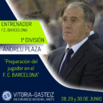 Andreu Plaza ponente en el XXI Congreso ANEFS en Vitoria-Gasteiz