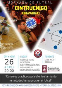 Jornada Promocional XXI Congreso - 26/04 Cintruenigo (Navarra)
