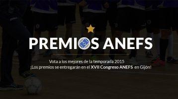Ganadores Premios ANEFS 2016