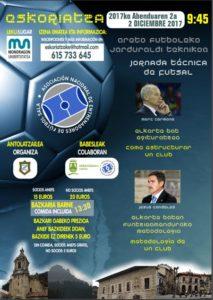 Jornada Formativa 02/12 en Eskoriatza con Marc Camona y Jesús Candelas