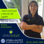 Silvia Martin ponente en el XXI Congreso ANEFS en Vitoria-Gasteiz